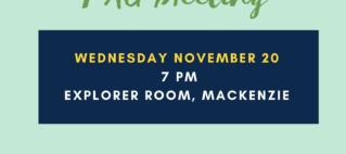 Public Advisory Group Meeting – Nov 20