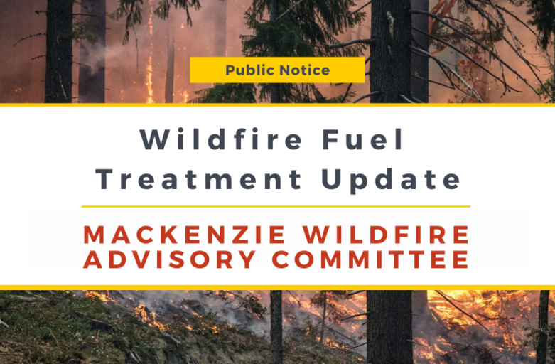 Wildfire Fuel Treatment Update for the Week of April 20